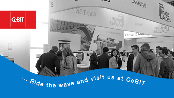 We'll be there.. CeBIT 2014
